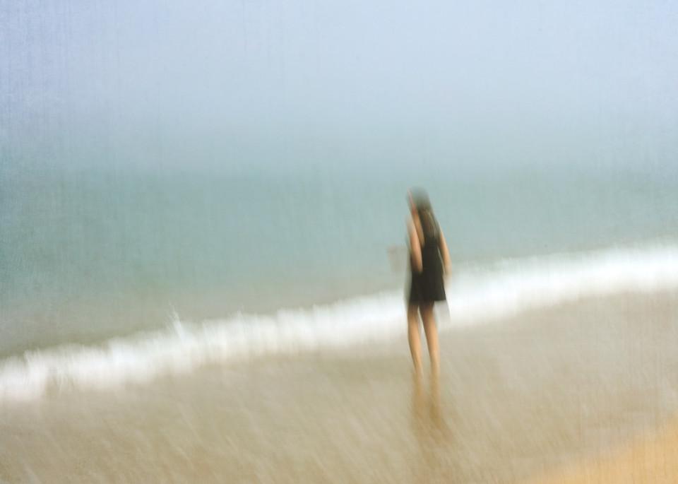 """Jenn at Great Point"" Nantucket Abstract Beach Photograph"