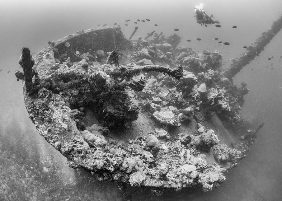 Kashi Maru Shipwreck Bow, Solomon Islands