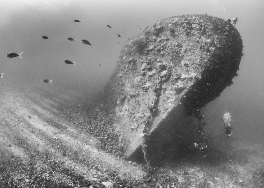 Kashi Maru Shipwreck, Solomon Islands