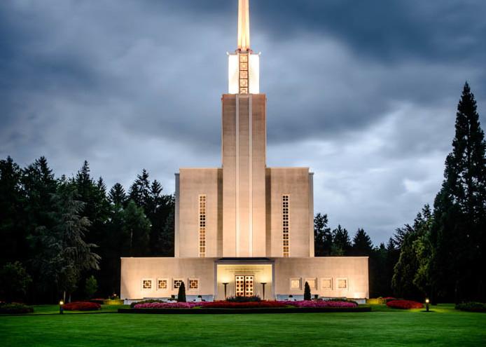 Switzerland Temple - Morning