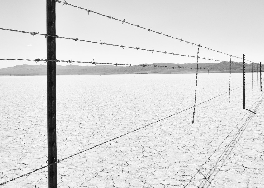 The same fence that shuts others out shuts you in