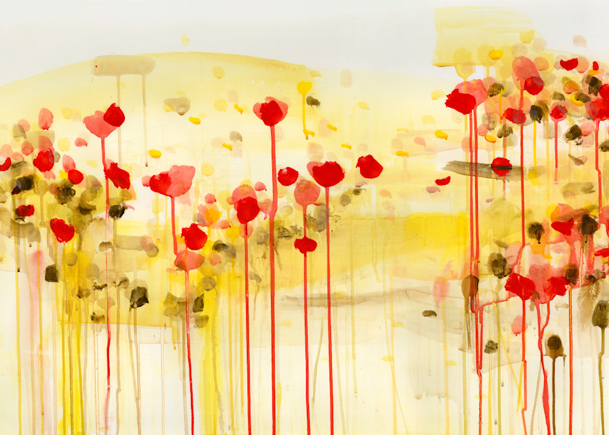 Field August Art | Caroline Wright Art
