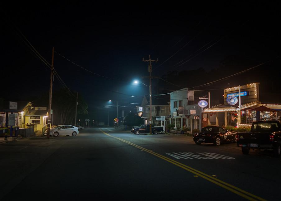 nocturne, photography, stinson beach, highway 01, california, nightscape