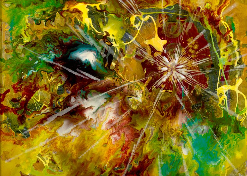 Genesis 2   He Rested Art | michelle silverman art