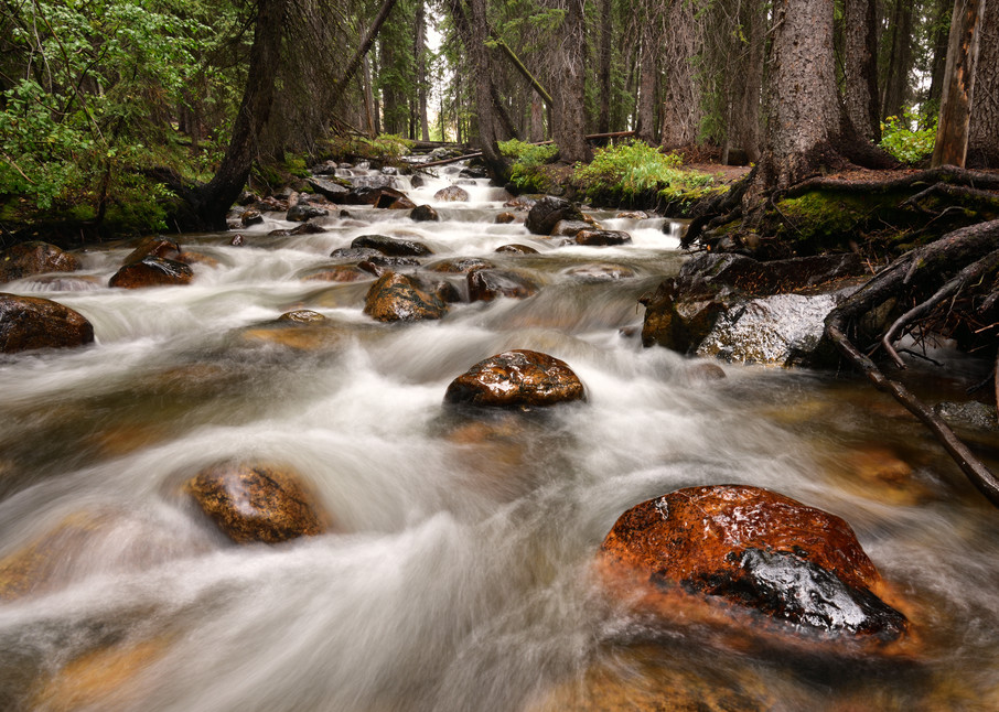 What Lies Ahead - Fishhook Creek in Redfish Idaho - Fine Art Prints on Metal, Canvas, Paper & More By Kevin Odette Photography