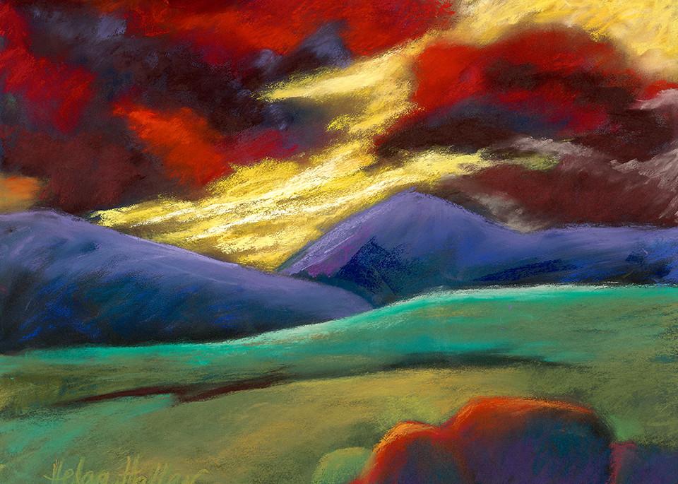 Red Sky Evening Art | Fine Art New Mexico