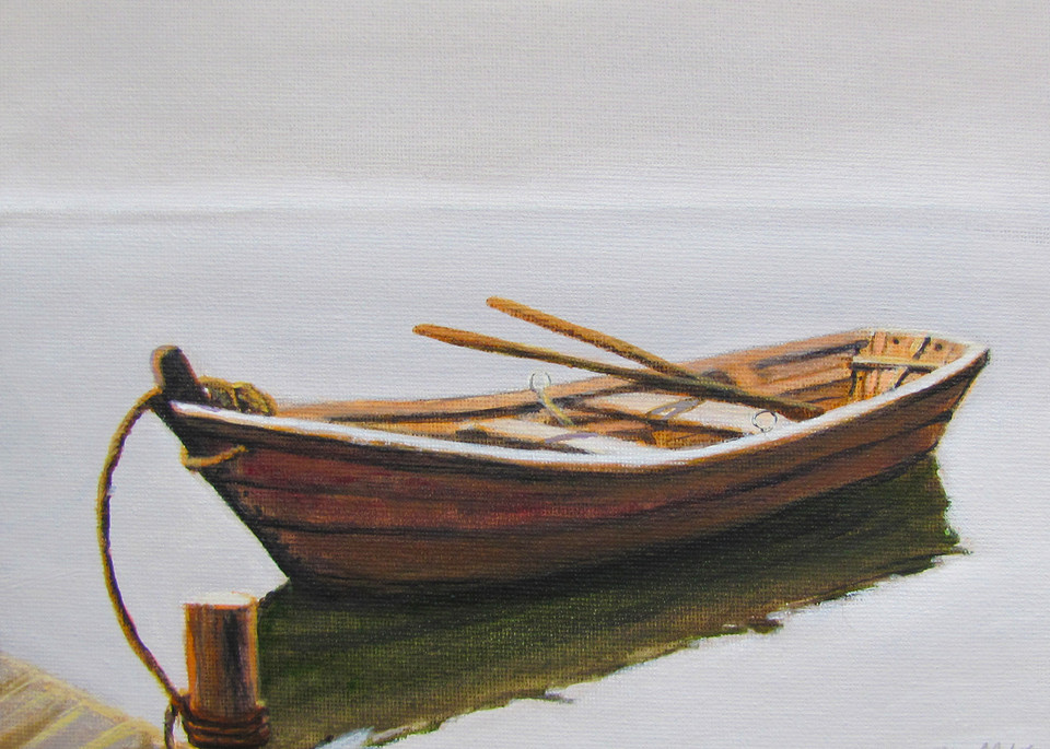 Row Boat #12  Art   Charles Wallis