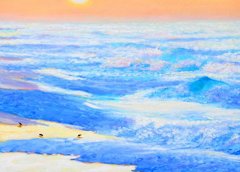 Coastal Dawn Art | Charles Wallis