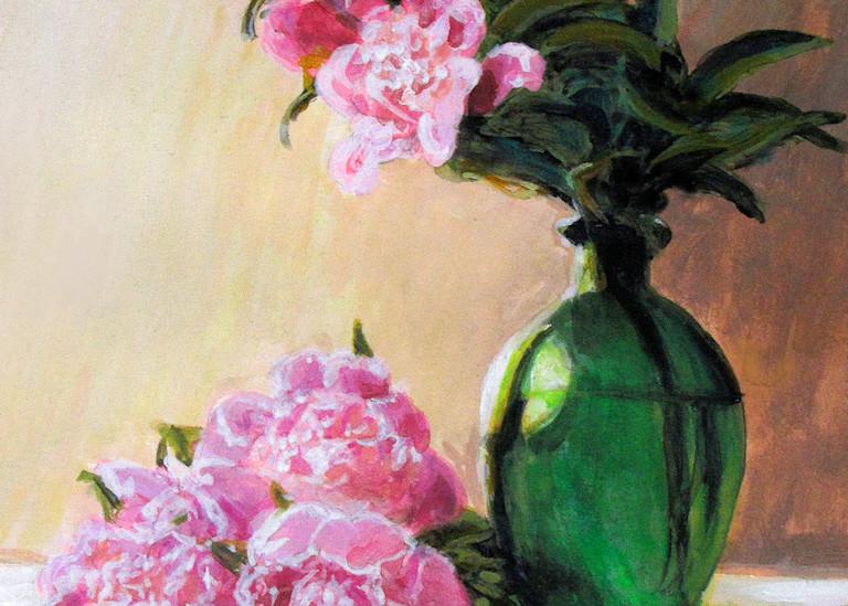 Peony Still Life #2 Art   Charles Wallis