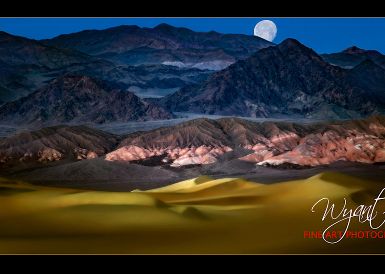 Moon Over Death Valley: Shop Fine Art Photography | Jim Wyant, Master Craftsman