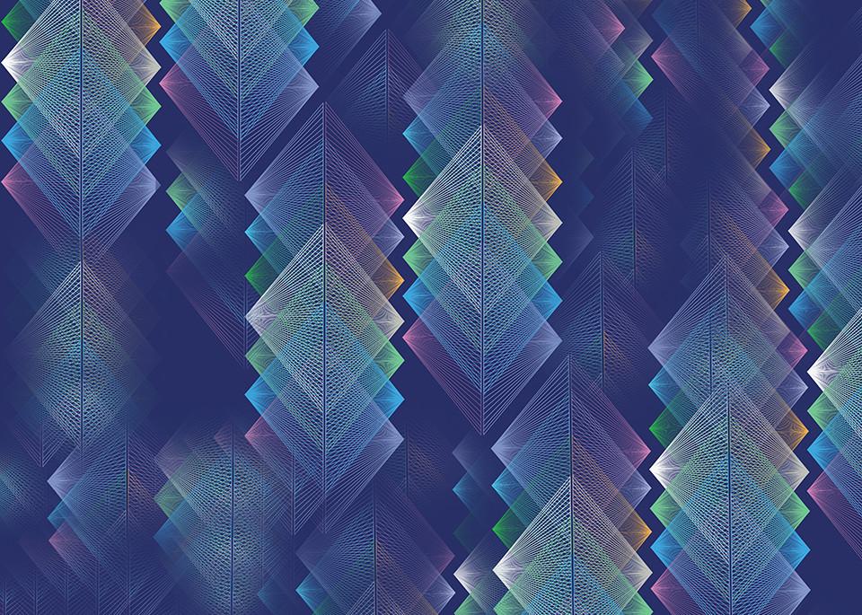 rainbow, flight, vortex, patterns, wall art