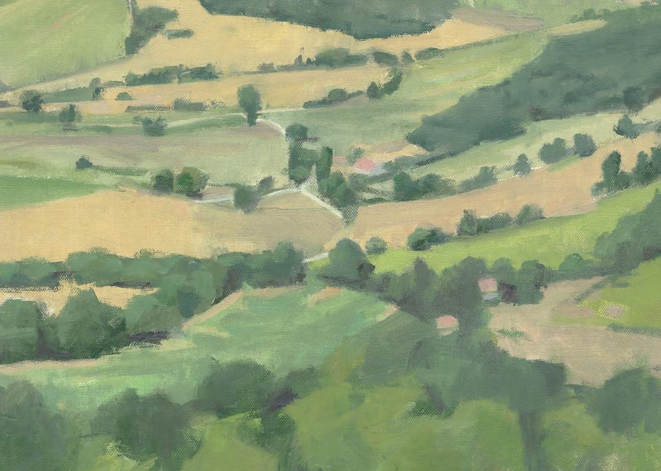 Otricoli Looking Towards Narni | Art Print by Antrese Wood