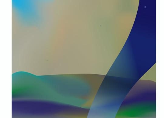 Rothman Unetenah Tokef, art, painting, landscape, Hebrew, Jewish