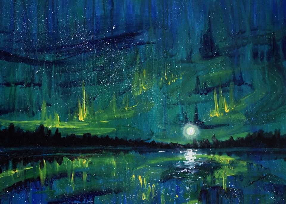 When The Sky Dances Art | ArtPartner