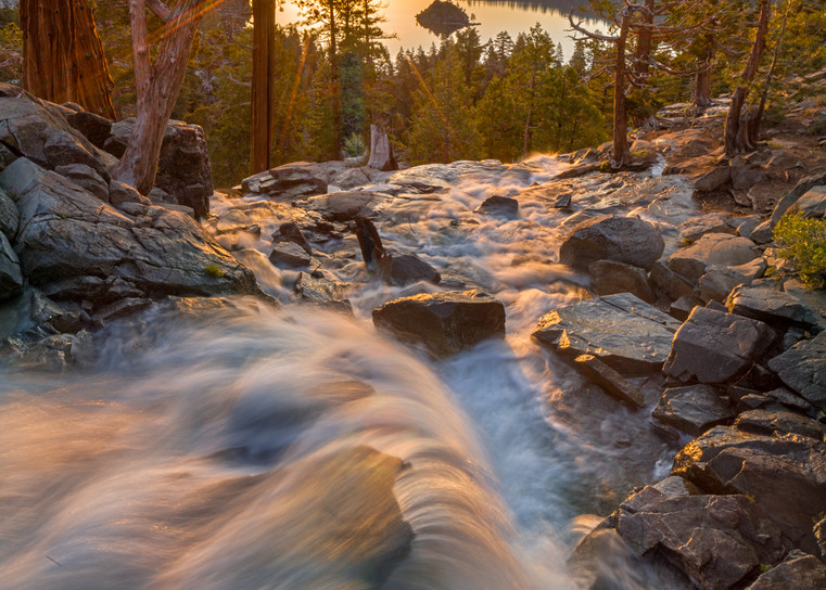 Sunrise on Eagle Falls Lake Tahoe