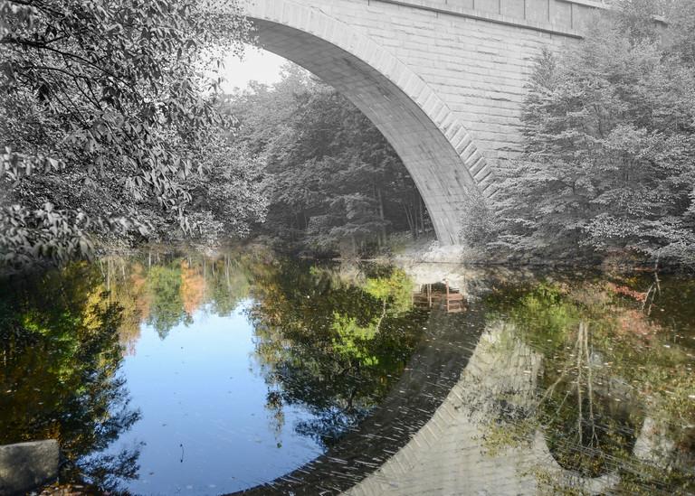 Echo Bridge, Newton Art   Mark Hersch Photography