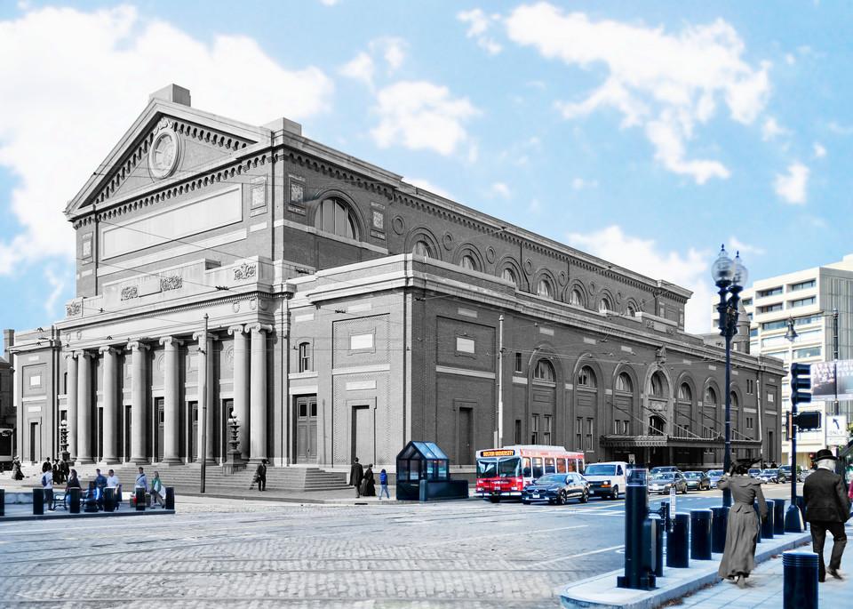 Symphony Hall Art   Mark Hersch Photography