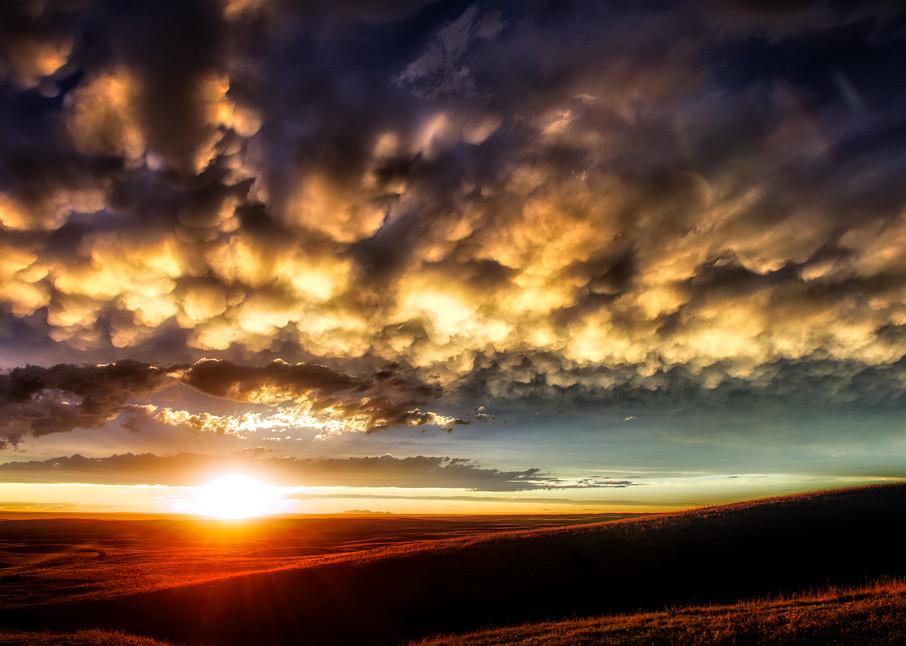 Sweetgrass Sunset Photography Art | Craig Edwards Fine Art Images