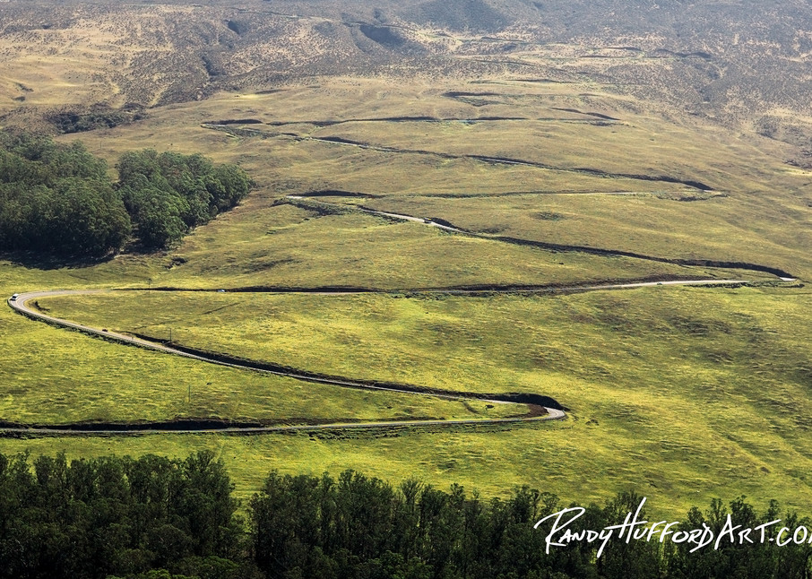 Haleakala Highway Switchbacks
