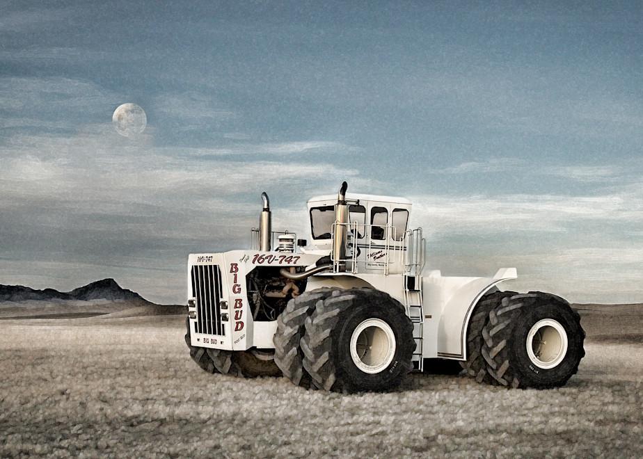 Big Bud Moonrise Photography Art | Craig Edwards Fine Art Images