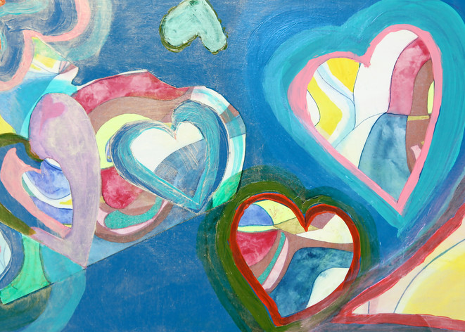 Heart 1 Art | Pam White Art