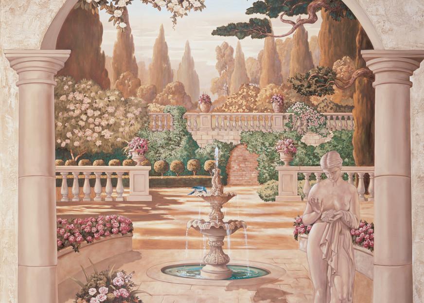 Bella Fontana   Murals in Classical Style   Gordon Meggison IV