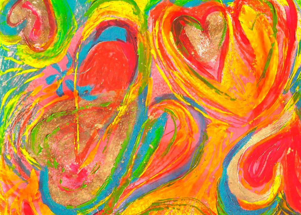 Heart 3 Art | Pam White Art