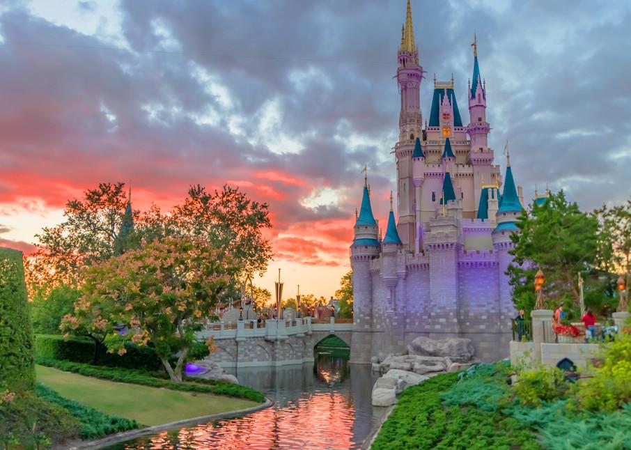 Castle Dusk - Disney Prints for Sale | William Drew
