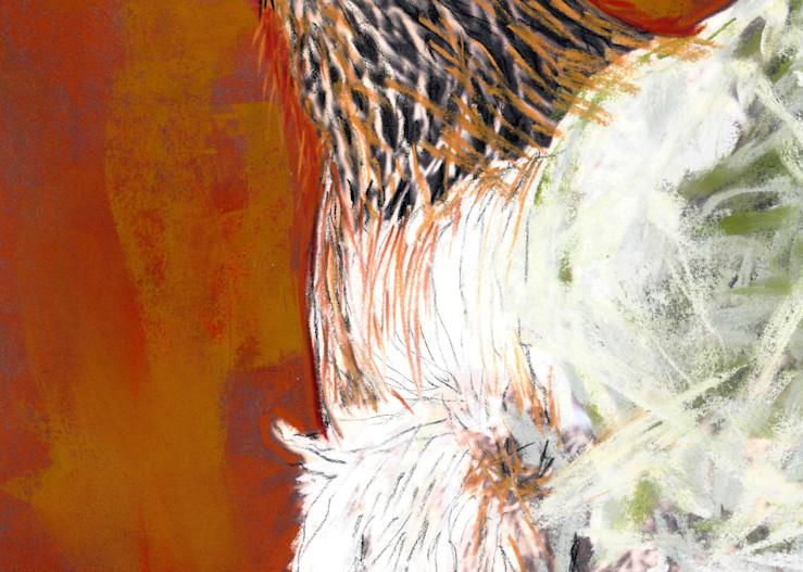 Watch Hen Art | Pam White Art
