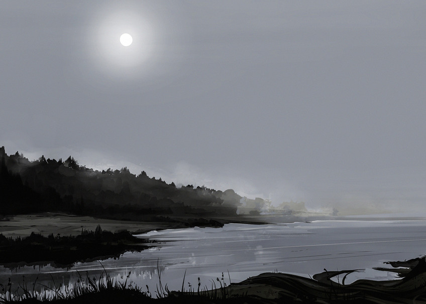Alena Aenami Graylandscape3 Art | famous