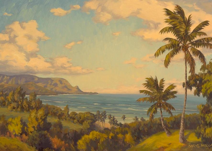 Home In Hanalei  Art | Daryl Millard Gallery LLC