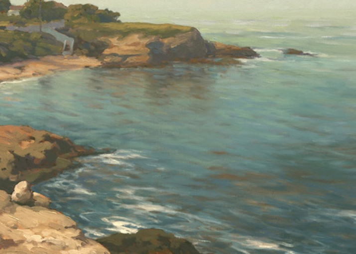 La Jolla Cove Reflections  Art   Daryl Millard Gallery LLC
