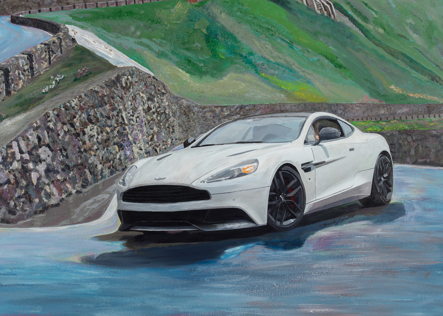 Aston Martin Vanquish for Alastair Donald