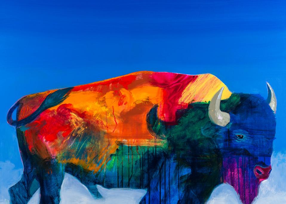 Alpha Buffalo | John Nieto Open Edition Giclee