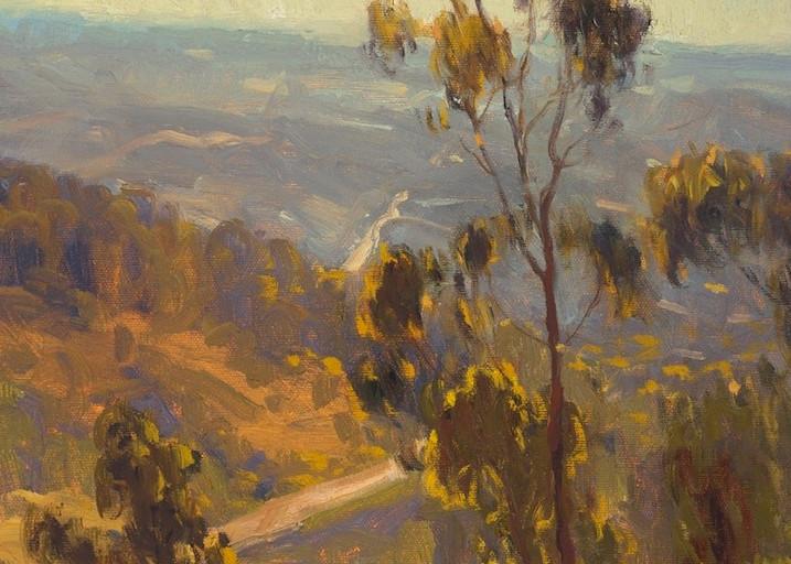 Sunlit Trails  Art | Daryl Millard Gallery LLC