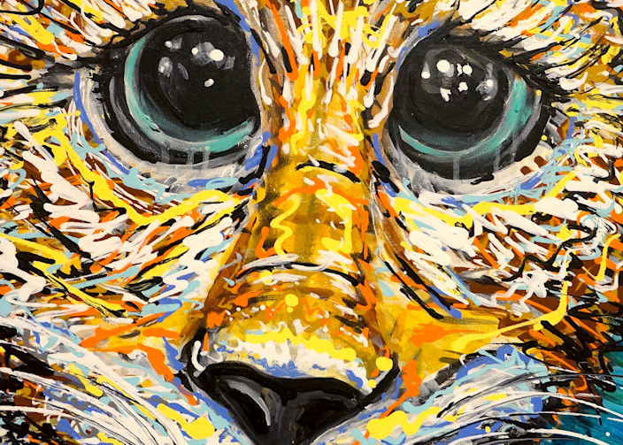 Those Eyes Though Art | Art by Trev: Trevor Griffin Fine Art