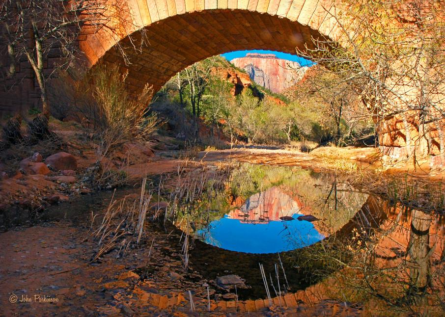 Under Zion Bridge