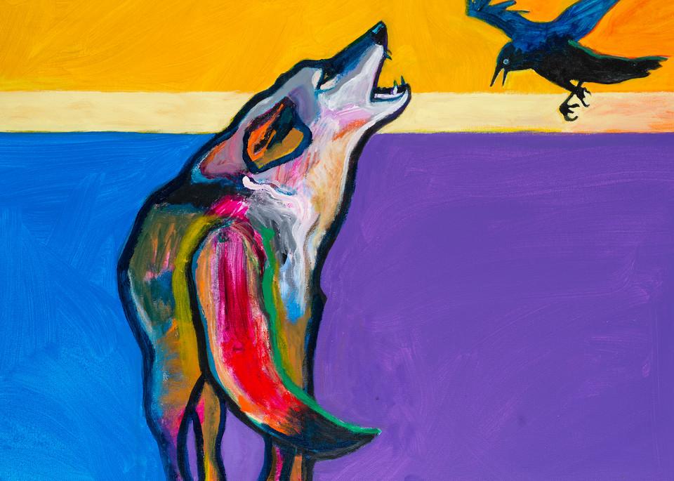 Raven Tag | John Nieto Art Reproduction