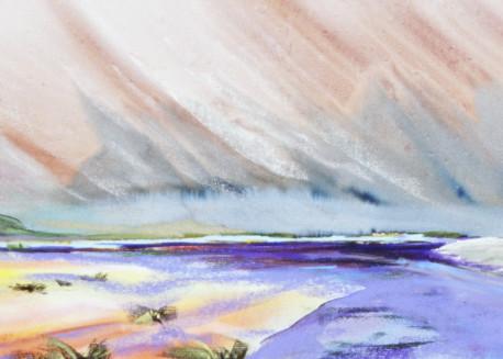landscape painting Willamette Valley Umpqua River