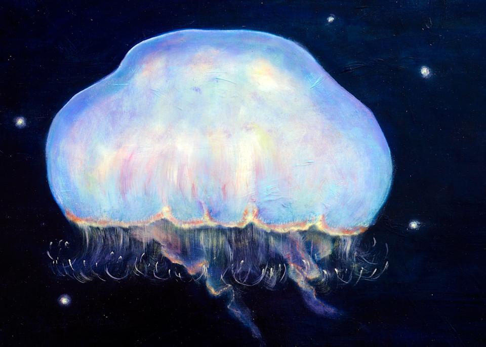 Underwater Moonlight - Fine Art Prints on Canvas, Paper, Metal & More by Irina Malkmus