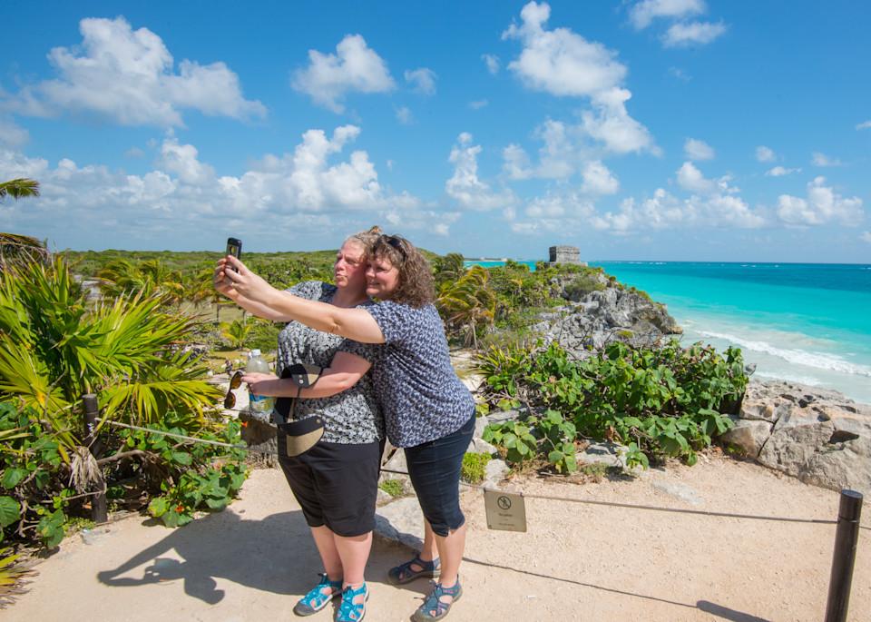 Tulum Selfie