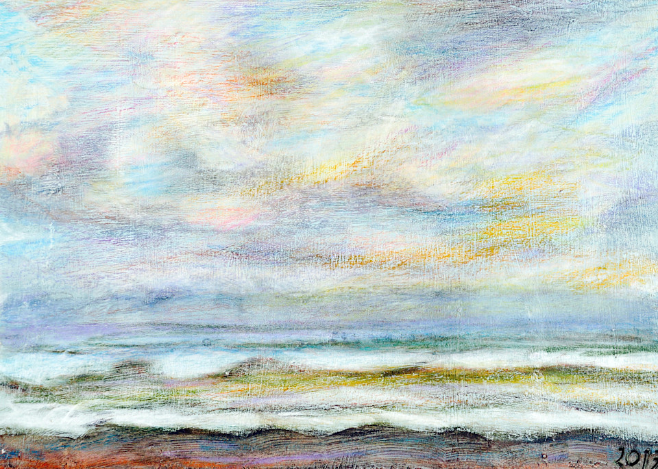 Abstract Seascape - Fine Art Prints on Canvas, Paper, Metal & More by Irina Malkmus