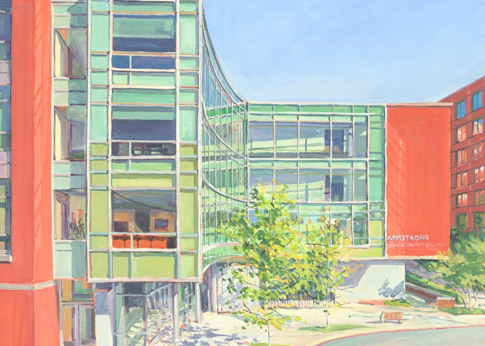 Johns Hopkins Armstrong Building / Print Art | Crystal Moll Gallery