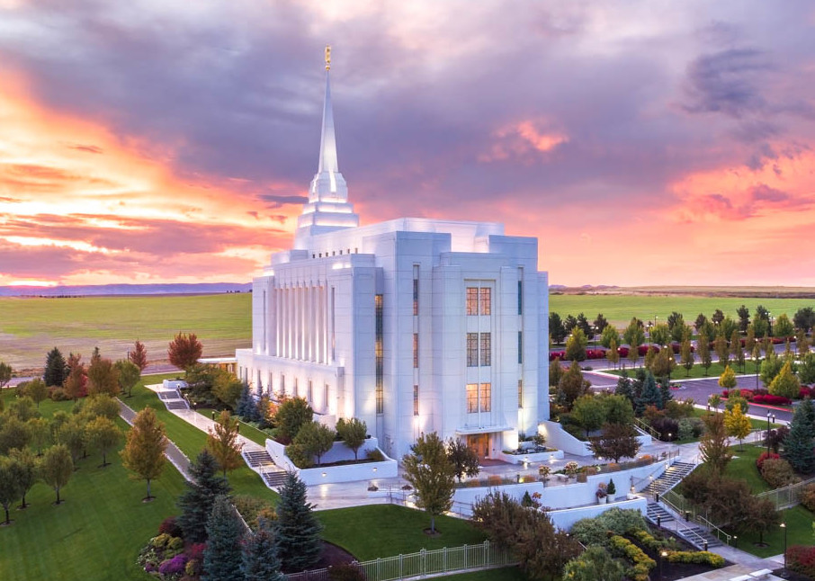 Rexburg Idaho Temple - Greater Heights