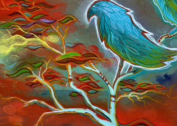 Messengers Painting by Spencer Reynolds