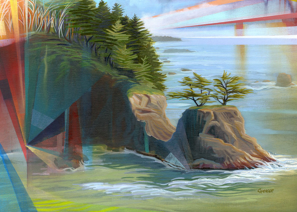 Tempest Formed Painting by Spencer Reynolds