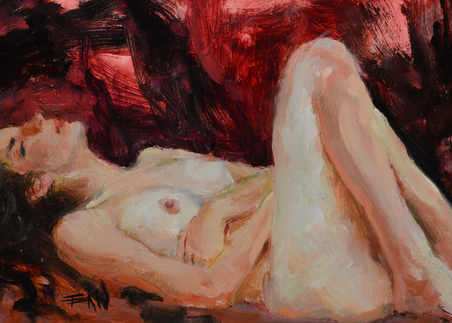 """""""Dreaming"""" open edition giclee print by Eric Wallis"""
