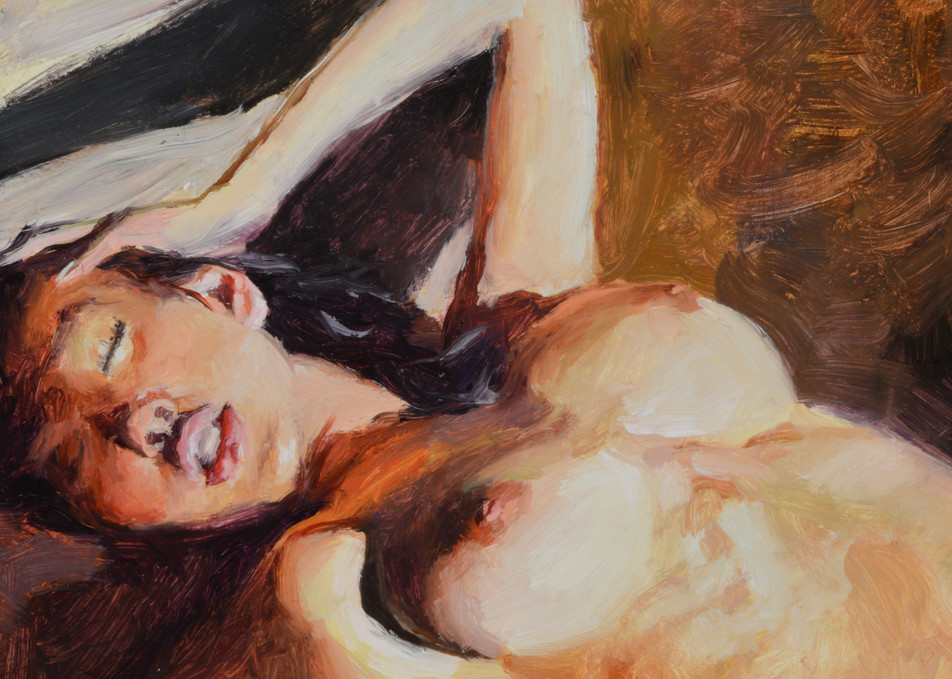 """Sultry Warm"" 6x6in. giclee print by Eric Wallis"