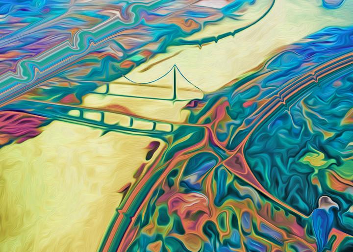 Fraser River Dance Art | shawn morris creative