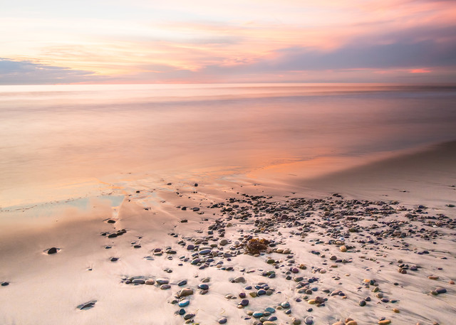 Steve Woodruff, beach photo, Torrey Pines Beach, Seaside Serenity